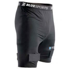 Šortky se suspenzorem Blue Sports Classic Compression Short SR