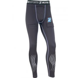 Kalhoty se suspenzorem Blue Sports Compression SR