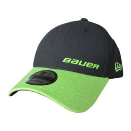 Kšiltovka Bauer New Era 940 Black/Lime SR