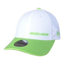 Kšiltovka Bauer New Era 3930 Black/Lime Junior