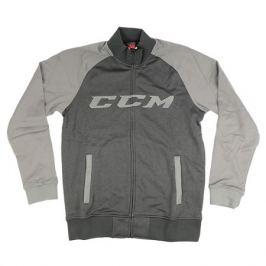 Bunda CCM Track Jacket Heather Black/Grey SR