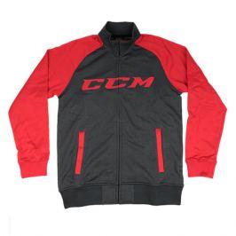 Bunda CCM Track Jacket Heather Black/Red SR