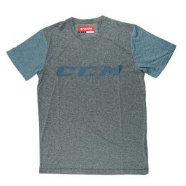 Triko CCM Tech SS Tee Heather Dark Saphire/Blue SR