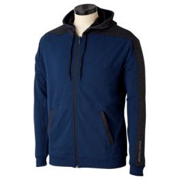 Mikina Bauer Premium Fleece Full Zip Navy SR
