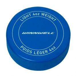 Hokejový puk WinnWell Printed modrý