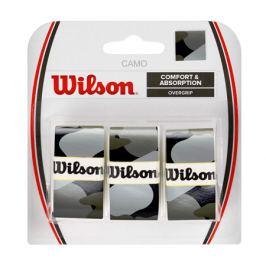 Omotávka na rakety vrchní Wilson Camo Overgrip Black (3 ks)
