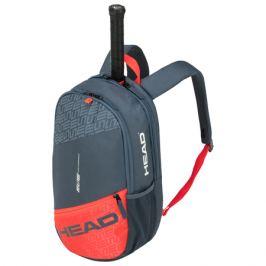 Batoh na rakety Head Elite Backpack Grey/Orange 2020