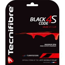 Tenisový výplet Tecnifibre Black Code 4S (12 m)