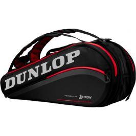 Taška na rakety Dunlop Performance 9 Racket Thermo Black/Red