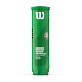 Dětské tenisové míče Wilson Roland Garros Green (4 ks)