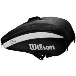 Taška na rakety Wilson Federer Team 12 Pack 2020 Black