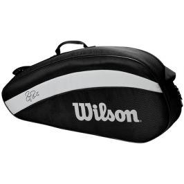 Taška na rakety Wilson Federer Team 3 Pack 2020 Black