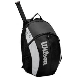 Batoh na rakety Wilson Federer Team Backpack 2020 Black