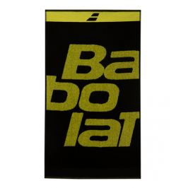 Ručník Babolat Towel Medium Black/Yellow