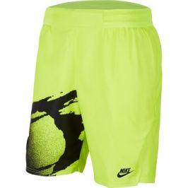 Pánské šortky Nike Court Slam Lime/Black