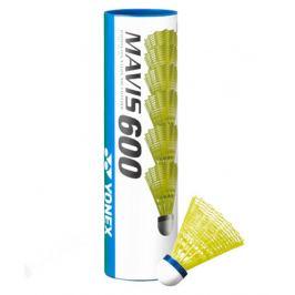 Badmintonové míče Yonex Mavis 600 Yellow (dóza po 6 ks)