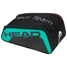 Taška na obuv Head Tour Team Shoe Bag Black/Teal