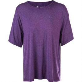 Dámské tričko Endurance Q Flora SS Melange Tee fialové