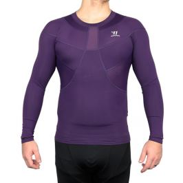 Triko Warrior Compression LS Tee BlackBerry SR