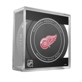 Oficiální puk utkání NHL Detroit Red Wings