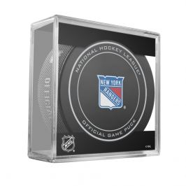 Oficiální puk utkání NHL New York Rangers