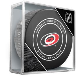 Oficiální puk utkání NHL Carolina Hurricanes