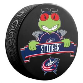 Puk Maskot Inglasco NHL Columbus Blue Jackets