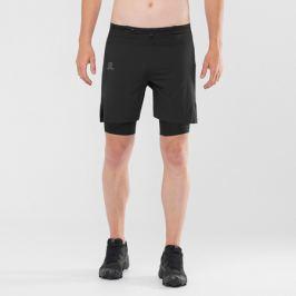 Pánské šortky Salomon EXO Motion Twinskin Short černé