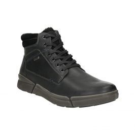 Pánská kožená zimní obuv
