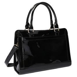 Černá kabelka se zlatými detaily