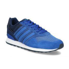 Modré kožené tenisky Adidas