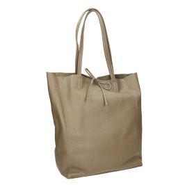 Dámská kožená kabelka s mašlí