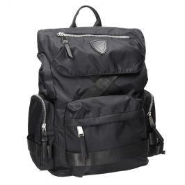 Černý pánský batoh z textilu