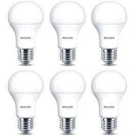 Philips LED 13-100W, E27, 2700K, matná, set 6ks