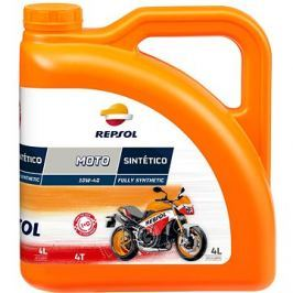 REPSOL MOTO SINTETICO 4-T 10W-40 4l