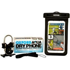 OXFORD voděodolný kryt na telefony Aqua Dry Phone, (verze s kotvením na řídítka) Doplňky
