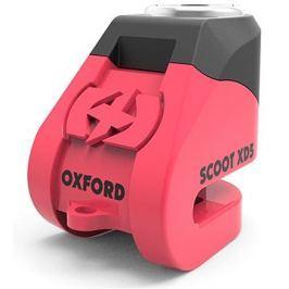OXFORD zámek kotoučové brzdy Scoot XD5, (růžový/černý, průměr čepu 6mm) Zámky