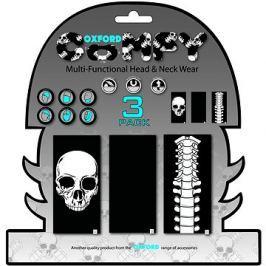 OXFORD nákrčníky Comfy Skeleton, (sada 3ks) Nákrčníky a šátky