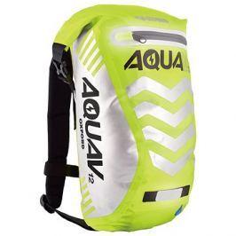 OXFORD vodotěsný batoh Aqua V12 Extreme Visibility, (žlutá fluo/reflexní prvky), objem 12l