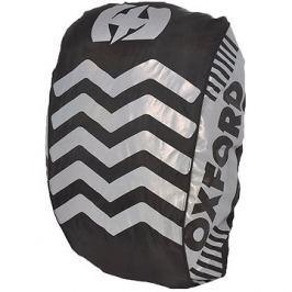 OXFORD reflexní obal/pláštěnka batohu Bright Cover, černá/reflexní prvky