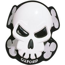 OXFORD slidery Skull, (bílé, pár) Slidery