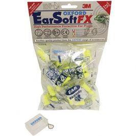 OXFORD PU špunty do uší Earsoft FX, (SNR - průměrná hodnota snížení hluku 39 dB, obchodní balení 25