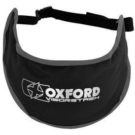 OXFORD vak na plexi VisorStash Deluxe, (černý/šedý) Ledvinky a taštičky
