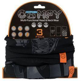 OXFORD nákrčníky Comfy Harley Davidson Graphics, (sada 3ks)