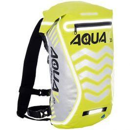 OXFORD vodotěsný batoh Aqua V20 Extreme Visibility, (žlutá fluo/reflexní prvky), objem 20l
