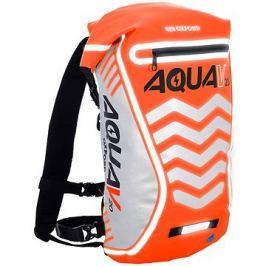 OXFORD vodotěsný batoh Aqua V20 Extreme Visibility, (oranžová fluo/reflexní prvky), objem 20l