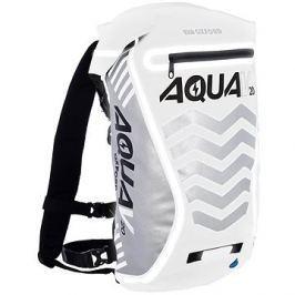 OXFORD vodotěsný batoh Aqua V20 Extreme Visibility, (bílá/šedá/reflexní prvky), objem 20l