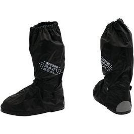 OXFORD návleky na boty RAIN SEAL s reflexními prvky a podrážkou,  (černá, vel. XL)
