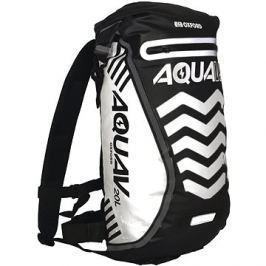 OXFORD vodotěsný batoh Aqua V20 Extreme Visibility, (černá/reflexní prvky), objem 20l