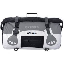 OXFORD vodotěsný vak Aqua20 Roll Bag, (bílý/šedý, objem 20l)